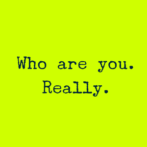 Who are. Really